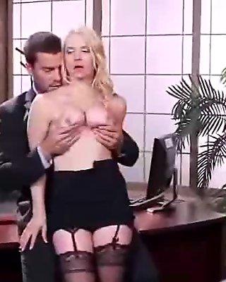 (sarah vandella) Sexy Girl With Round Big Juggs In Hardcore Sex In Office mov-28