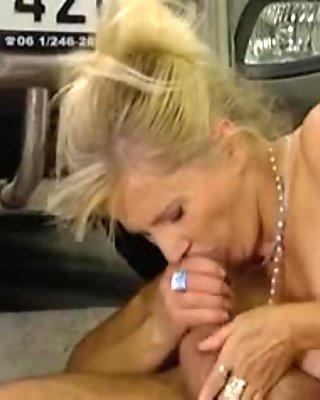 Very attractive mature blonde