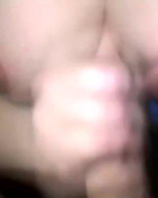 Hot cum splattered on her big tits