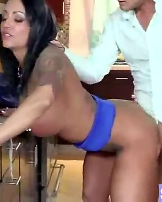 Horny Wife With Big Juggs Get Nailed On Tape video-05