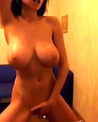 My Latin Sister with Huge Tits Masturbates - BasedCams.com