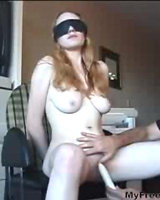 Big Tits Slut Has Her Pussy Teased By An Older Guy bdsm bondage slave femdom domination