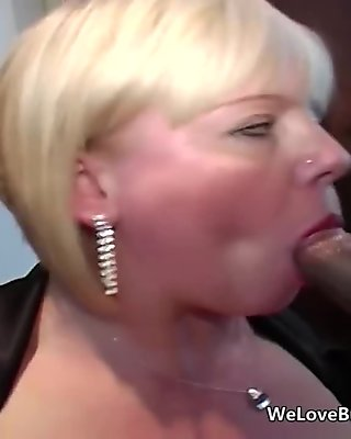 Busty mature allows anal from huge black cocks