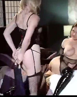 11-Nasty babes with big tits enjoy lesbian hardcore sex