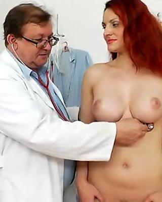 Busty slut surprise anal