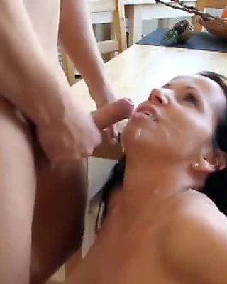 German mother get fucked by not her Step-Son