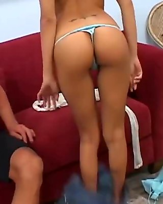 Mindless sex with a beautiful young slut Lela Star