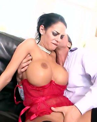 Amazing pornstar Angelina Valentine in incredible cunnilingus, facial xxx video