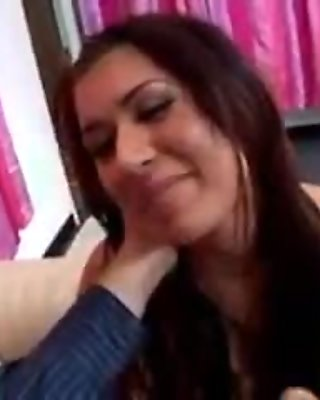 Big titty latina sexstar anal threesome
