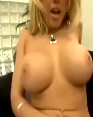 Blonde Kagney gets her ass pounded