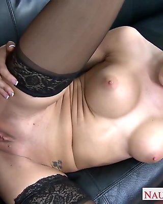 Wild Sexy Babe Carmen Capri Gets Pounded Hard