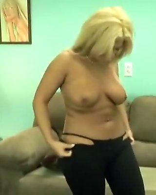 Amazing pornstar in fabulous big tits, blonde porn scene