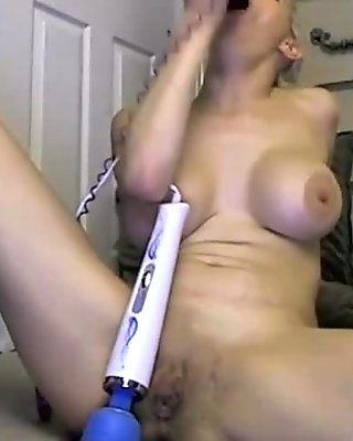 Inked high class blonde with deepthroat and big boobs