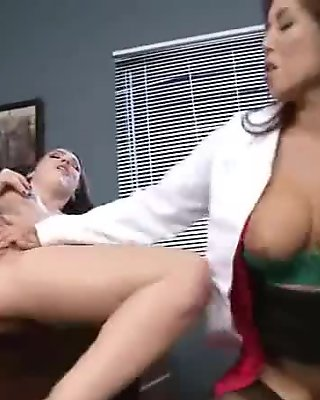 Doctor And Patient Engaged In Hardcore Style Sex clip-13