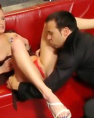 Exotic pornstar Donna Marie in amazing facial, cunnilingus xxx movie