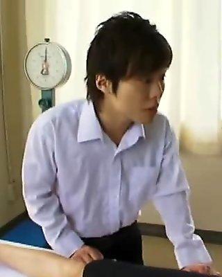 AzHotPorn.com - Big Tit Asian Student in Stockings