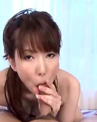 Breasty japanese'_s wanton toying