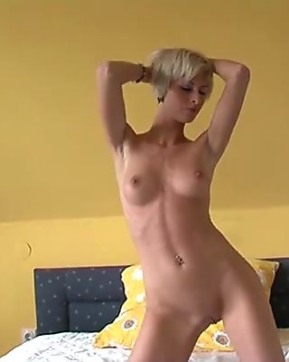 Three gorgeous sluts oiled up to tease and pose