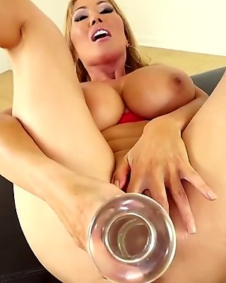 Pov bigtits asian dildo