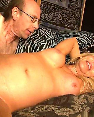 Kira B & Hooks & Chris Cock in My Hairy Gang Bang #06 Video