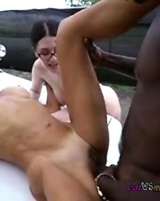 Whores Take Turns Getting Fucked By Black Stud