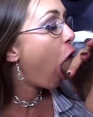 Great Interracial Deepthroat xxx mov. Bon Appetit