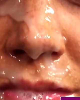 Two women facial after pleasing