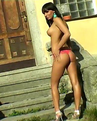 Slut Decides To Get Naked For Fun