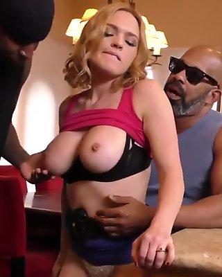 Mistress cuckolds in 3way