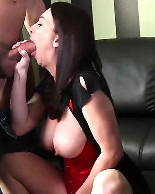 MommyBB Busty mom ###ing over a cheating boyfriend!